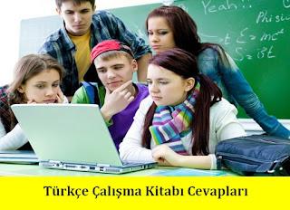 7. Sınıf Türkçe Ezde Yayınları Çalışma Kitabı Cevapları