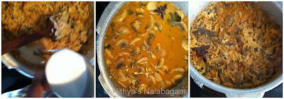 Mushroom Biryani with seeraga samba rice 5