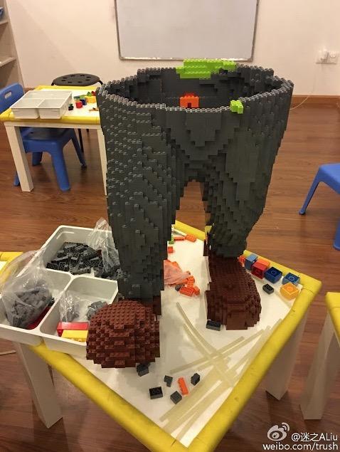 Lego Bernilai RM63,000 Berkecai Gara-Gara Budak
