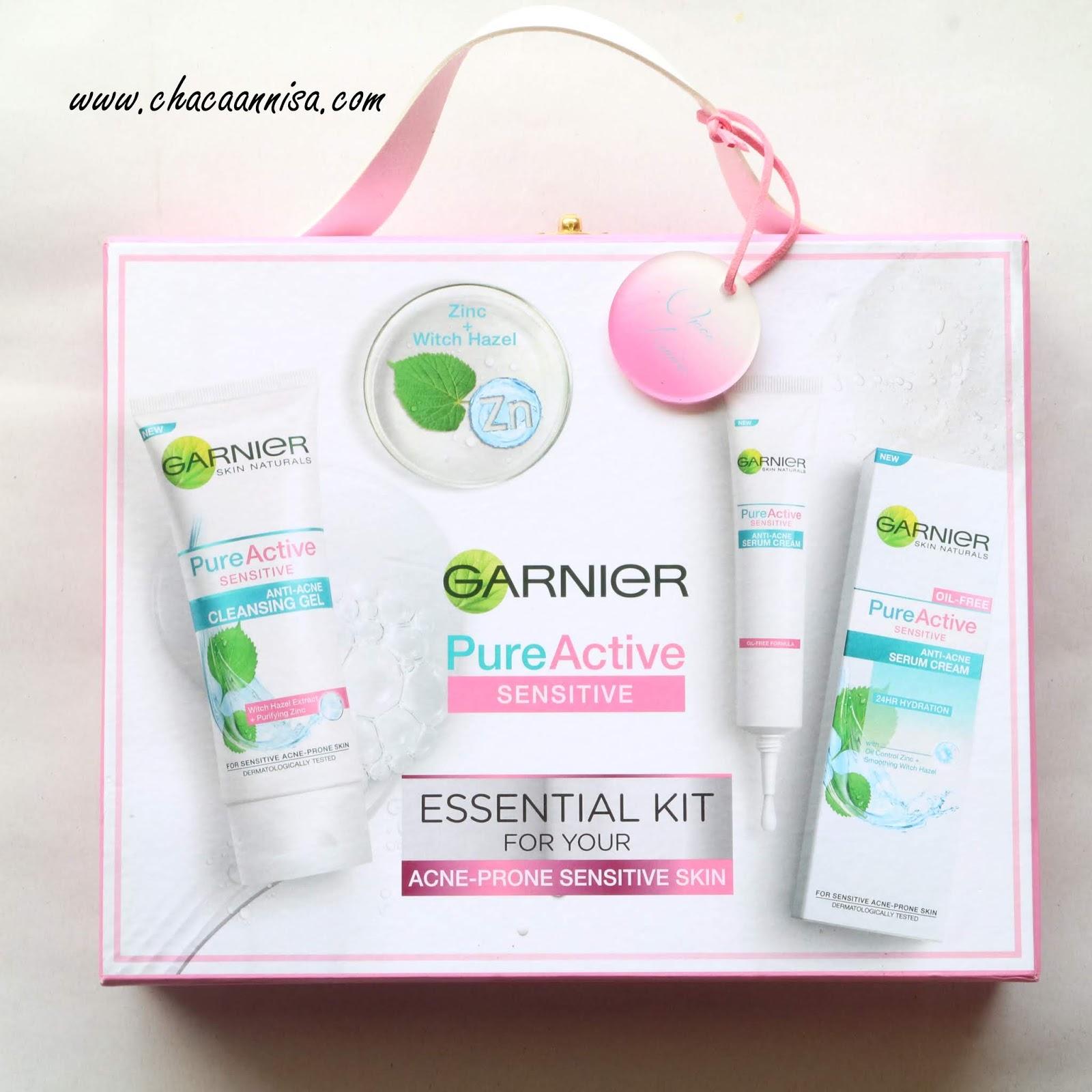 Review Garnier Pure Active Sensitive Anti Acne Produk Untuk Kulit Oil Clearing 100ml Nah Kali Ini Aku Mau Kenalin Ke Kalian Cleansing Gel Dan Serum Dari Yang Memahami Yaitu