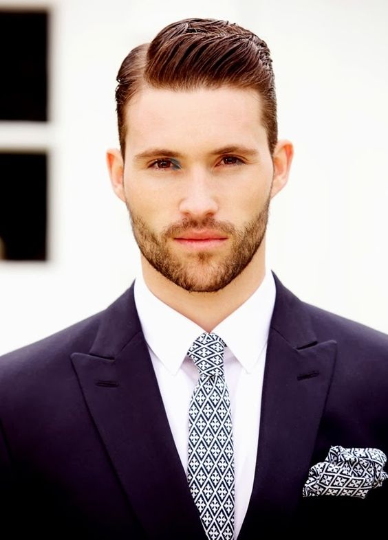 atractivos peinados de hombres para fiestas