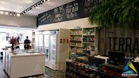 projeto arquitetura obra equipamentos balcão caixa loja produtos naturais orgânicos
