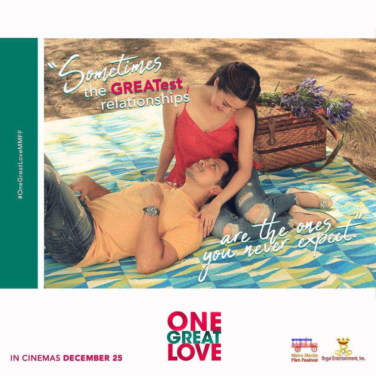 "One Great Love is a love story about finding ""The One"""