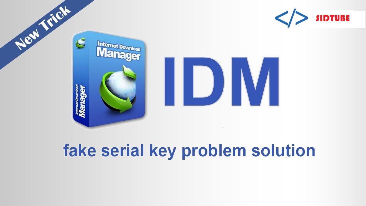 fake serial number idm remover