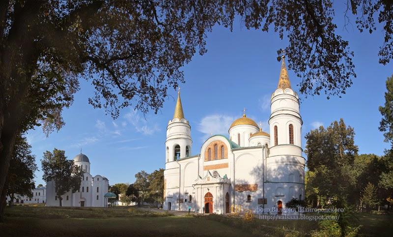 Чернигов  Спаский собор