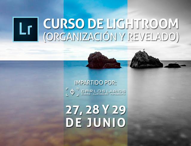 Curso de Lightroom - Organización y Revelado - 27, 28 y 29 de junio