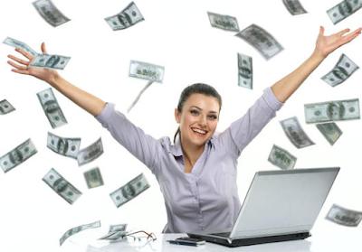 Tips Langkah Sukses Mendapat Uang Dari internet / Blog