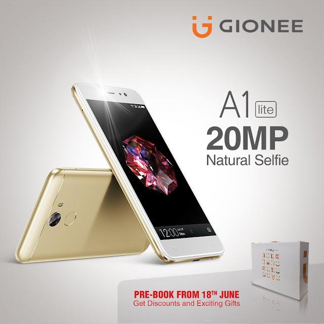 إطلاق هاتف Gionee A1 Lite ببطارية 4000 مللى أمبير وكاميرا 20 ميجابيكسل
