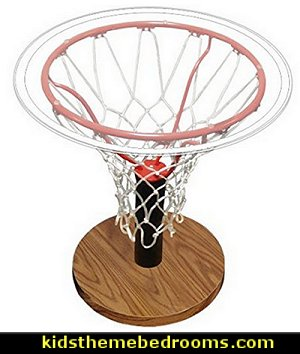 Basketball Decor - Spalding Sports Table   basketball bedroom ideas - Basketball Decor - basketball wall murals - basketball bedding - basketball wall decal stickers - basketball themed bedrooms - basketball bedroom furniture - basketball wall decorations - Basketball wall art - Basketball themed rooms NBA bedding - Boys basketball theme