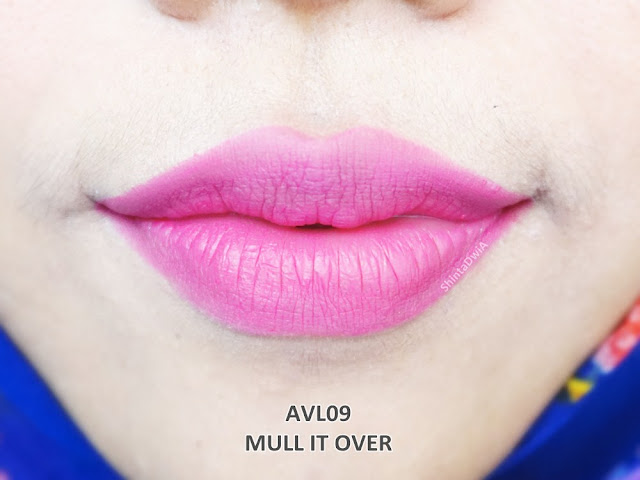 review absolute new york velvet lippie mull it over