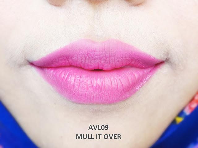 review absolute new york velvet lippie mull it over