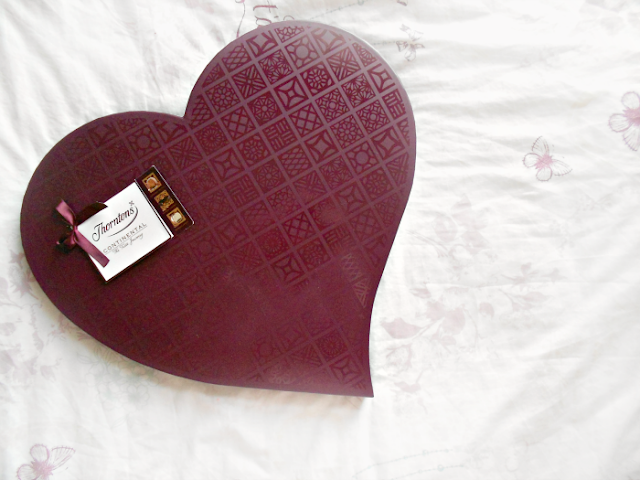 Thornton's Valentines chocolate