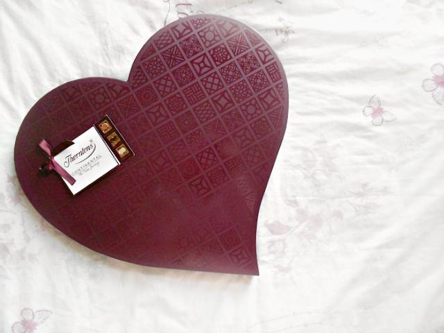 Thornton's Valentines chocolate