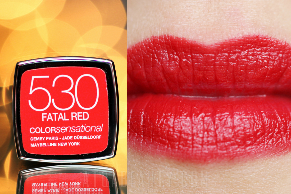 Maybelline • ColorSensational • 530 Fatal Red