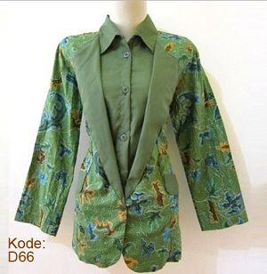 Gambar Model Baju Batik Guru