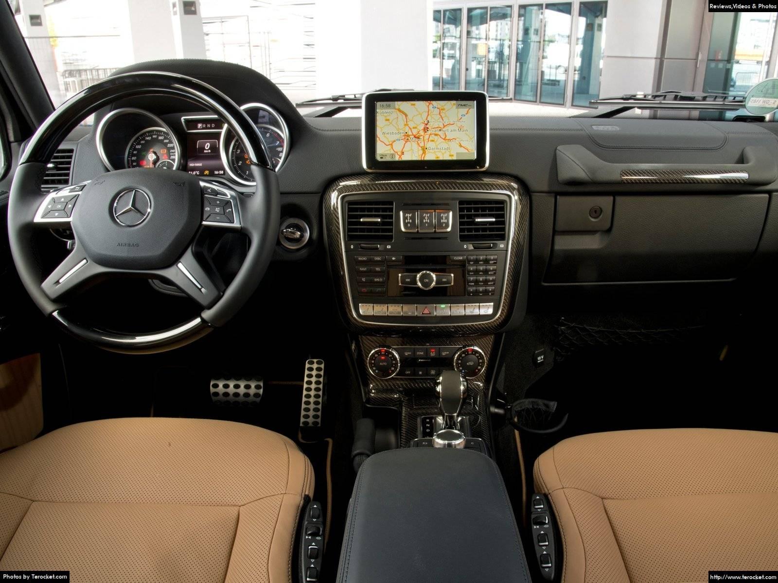 Hình ảnh xe ô tô Mercedes-Benz G-Class 2016 & nội ngoại thất