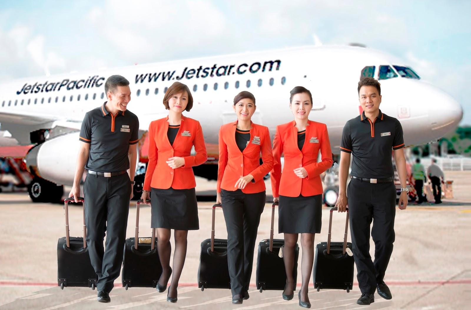 Nhân viên Jetstar Pacific