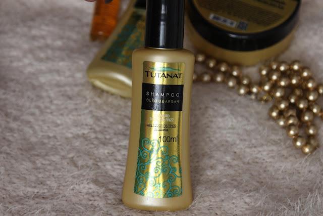 Cuidados com os cabelos em casa: Kit de Cristalização de Argan Tutanat