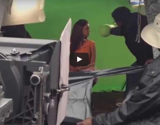 Kajal Aggarwal lip kiss scenes shooting Viral
