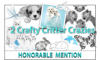 2 crafty critters honorable mention #24