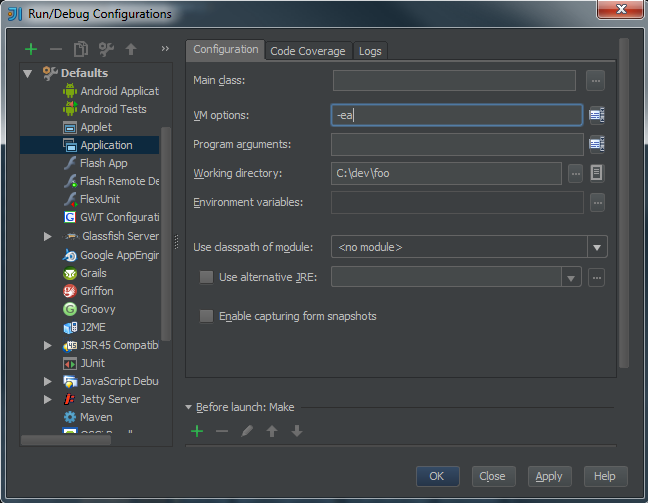 Flowstopper: Java: Should I assert or throw AssertionError?