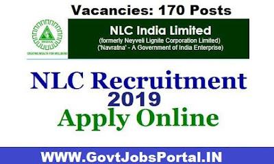NLC Recruitment 2019
