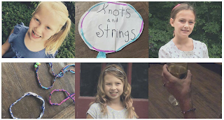 """Knots and Strings""—a labor of love by 3 local Franklin girls"