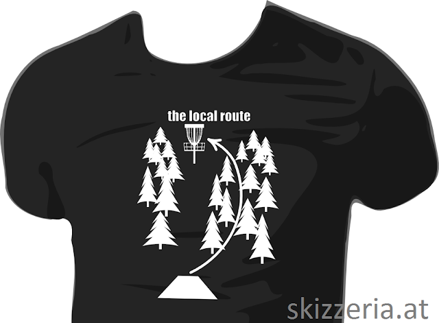 the local route shirtdesign by skizzeria.at