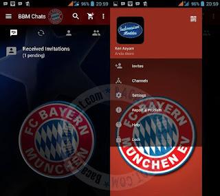 Kumpulan BBM Mod Thema Klub Sepak Bola Terbaru
