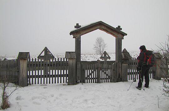 Cmentarz wojenny z okresu I wojny światowej nr 44 zaprojektowany przez Dušana Jurkoviča.