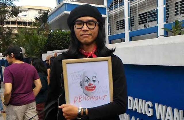 Buat Karikatur Perdana Menteri, Seniman Malaysia Dihukum Penjara
