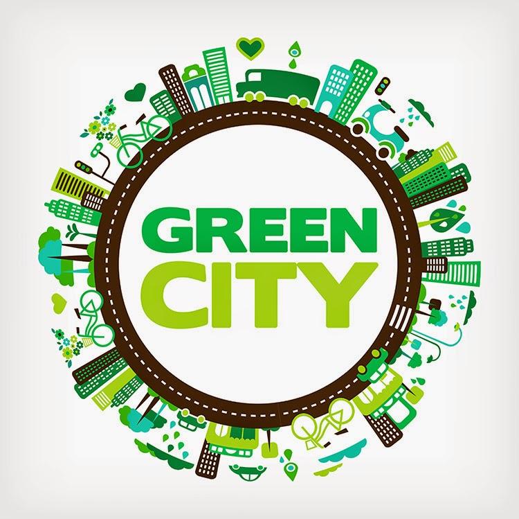 5 Contoh Poster Go Green Berbentuk Vector