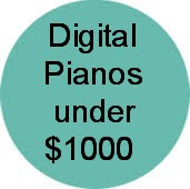 digital pianos under $500