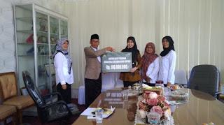 Badan Amil Zakat Nasional Lampung Beri Beasiswa untuk 4 Kecamatan Lampung Selatan
