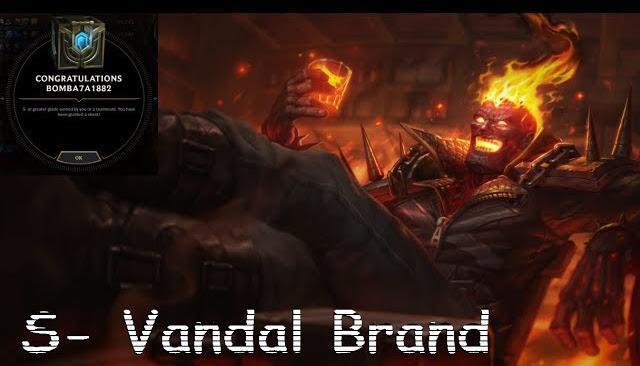 S- on Vandal Brand - Ranked Solo/Duo 5v5 - League of Legends | LoL