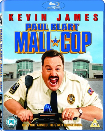 Paul Blart Mall Cop 2009 Dual Audio Hindi 720p BluRay 650mb