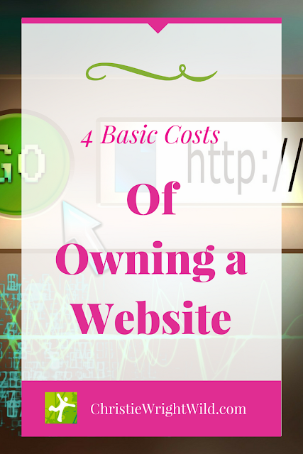 The Cost of Having a Website || basic costs of owning a website | author website tips | cost of domain name | hosting for author websites | domain names for writers