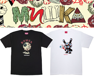 "Mishka x Kidrobot Dunny T-Shirt Collection - ""Lamour Keep Watch"" by L'amour Supreme& ""Keep Watch Pattern Dunny"""