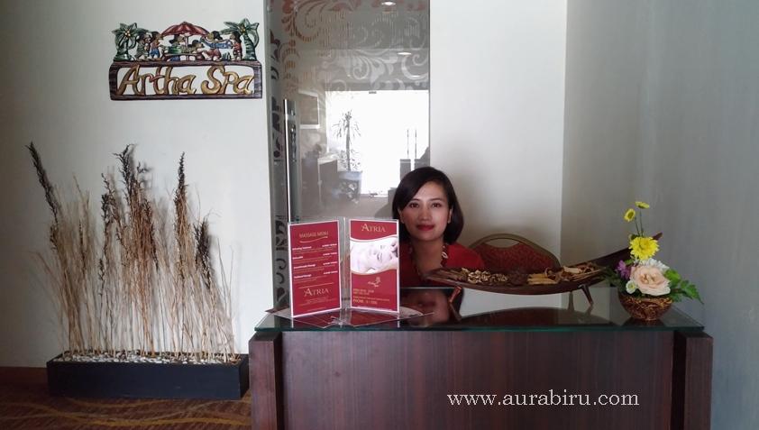 Merasakan Sensasi Pijatan Tradisional Di Artha Spa Hotel Atria Malang Aura Biru