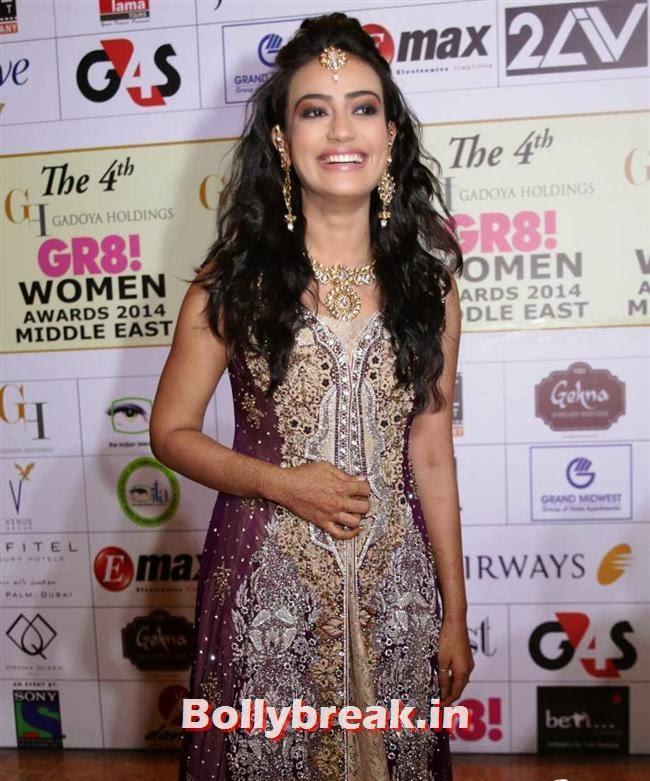 Surbhi Jyoti, Shriya, Kangna, Barkha at 4th GR8 Women Awards 2014