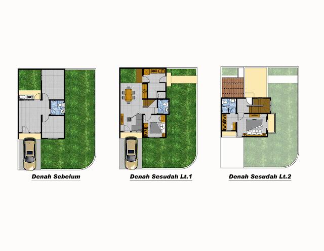 Desain Renovasi Rumah Type 40