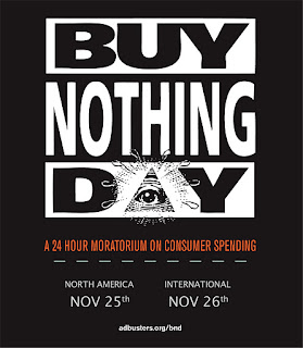 Buy nothing instead of shop