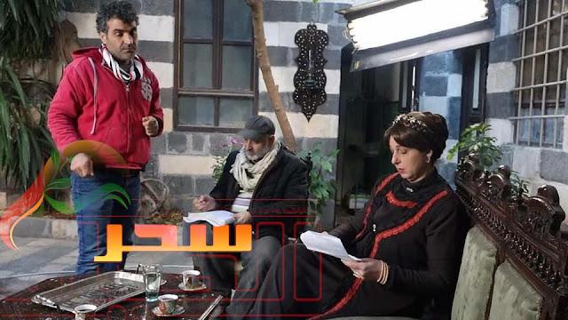 """""""بالصور """"نادين خوري تنتهي من تصوير مشاهدها في عطر الشام الجزء الرابع"""