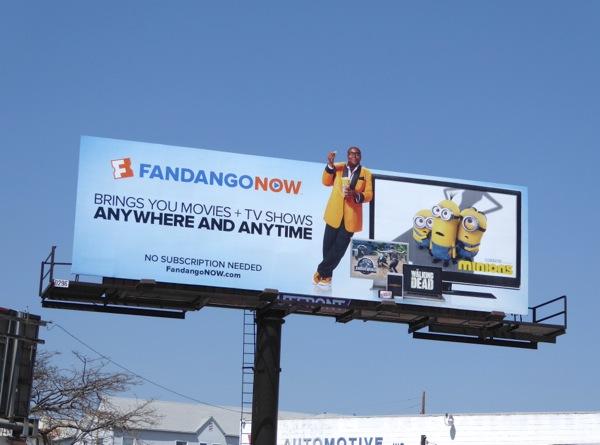 FandangoNOW billboard
