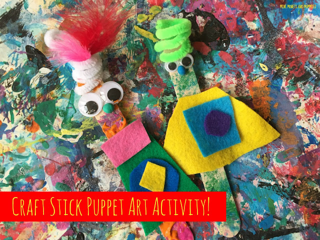 Puppet-making craft