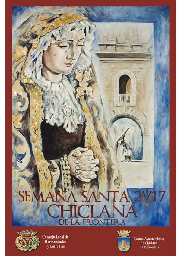 Programa, Horarios e Itinerarios Semana Santa Chiclana de la Frontera (Cádiz) 2017