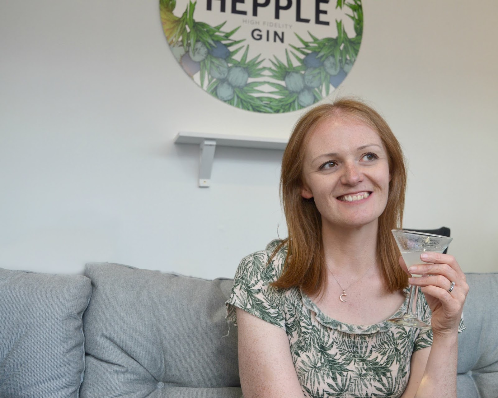 The Finest Food in the North at Fenwicks Food Hall, Newcastle - Hepple Gin Window