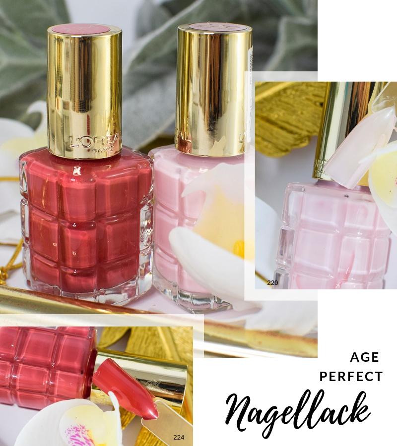 Übersicht und Test der L'Oréal Age Perfect Nagellacke