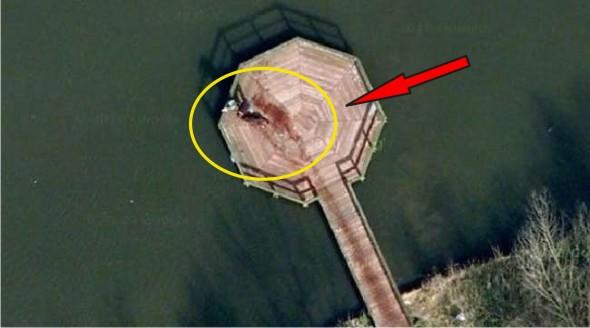 Google Earth Berhasil Merekam Foto Yang Sebelumnya Menjadi Kasus Misteri