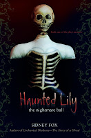 Skull and Corset Bones ©2004 used for Book Cover for Haunted Lily